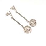 Aretes Cabezal Rectangular - joyas en plata peruana