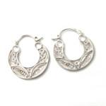 Argollitas Filigrana - joyas en plata peruana