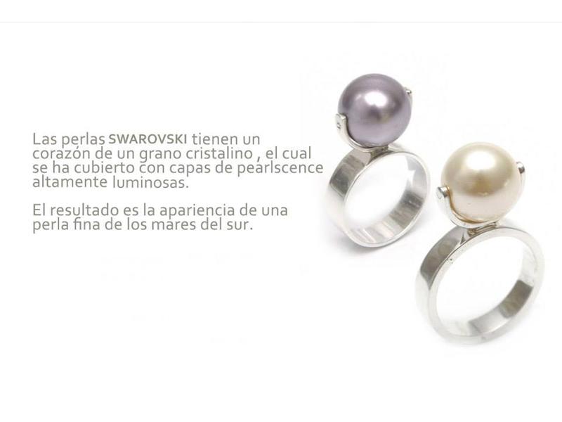 Infografia - Perla Swarovski - Diseñadora de joyas peruana