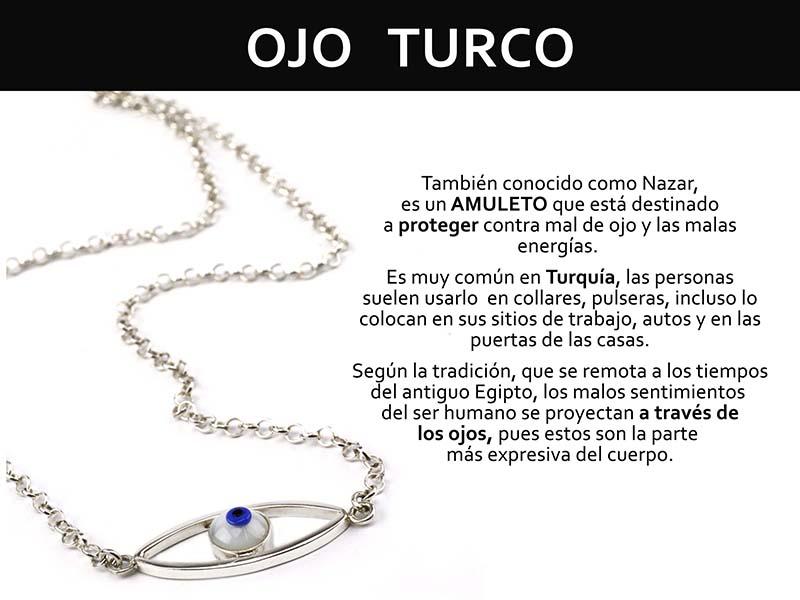 Infografia Ojo Turco - joyas en plata peruana
