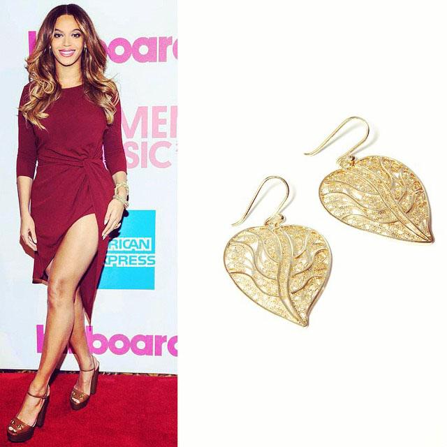 El look - Beyoncé - Diseñadora de Joyas peruana