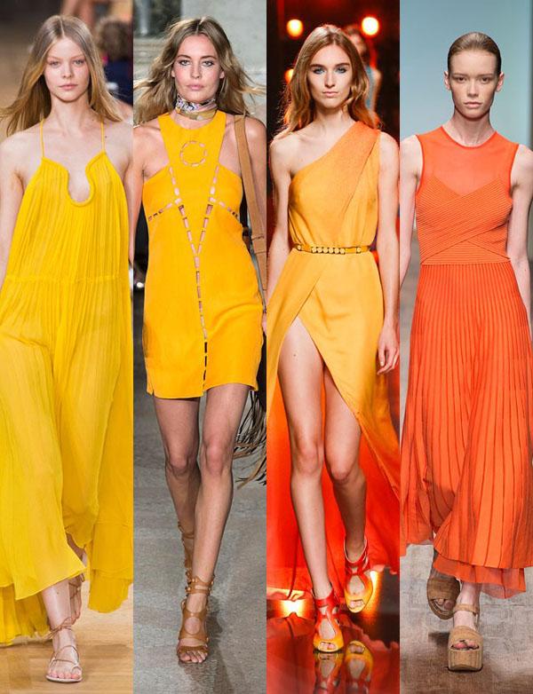 Amarillos y Naranjas, atrevete a usarlos. Alexandra Temple diseñadora de joyas de plata peruana