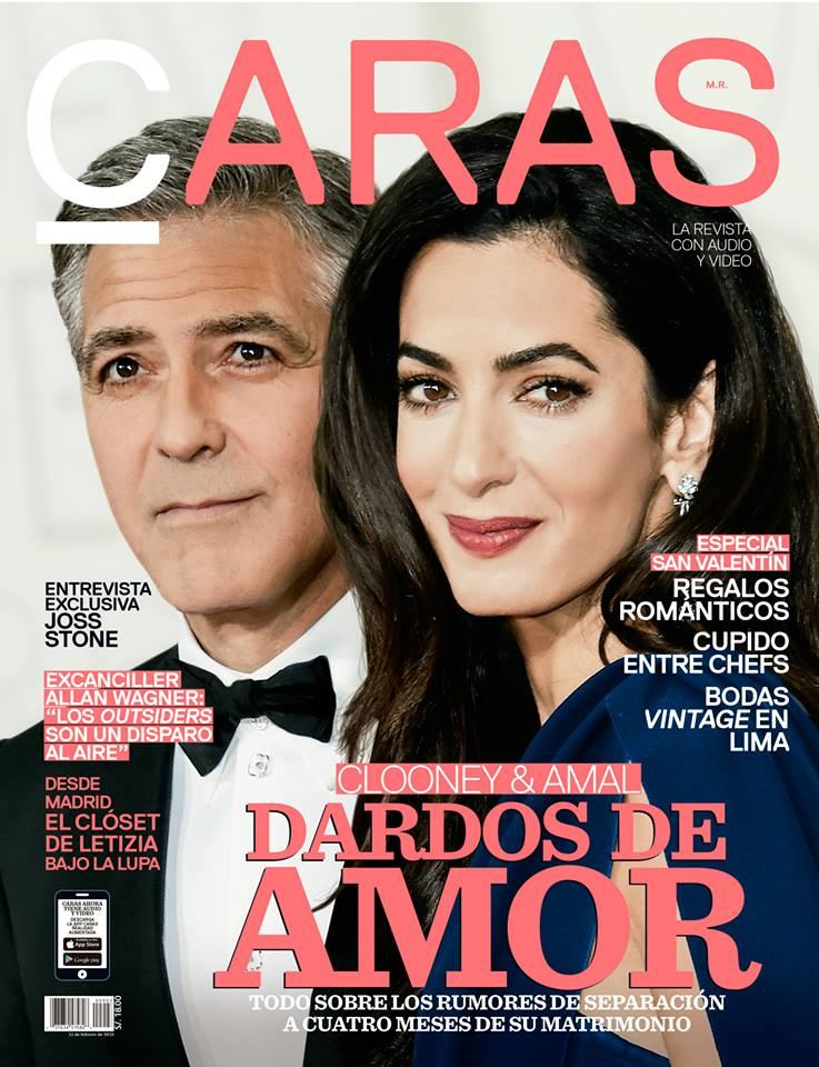Portada Revista Caras Febrero - Alexandra Temple Diseñadora de joyas peruana