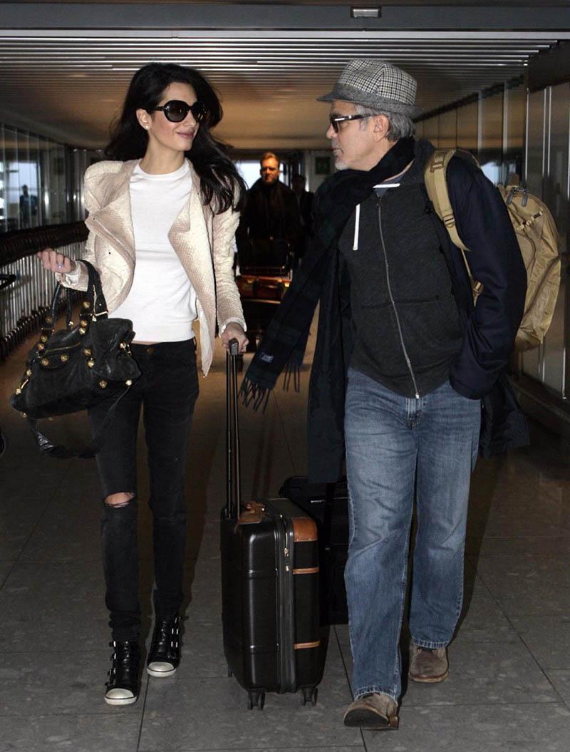 George y Amal Clooney - Alexandra Temple, diseñadora de joyas