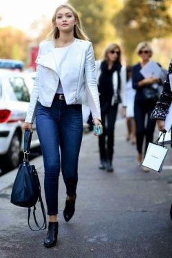 Gigi Hadid - Look Urbano