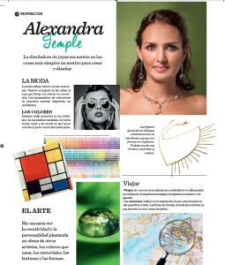 Nota prensa revista Caras edición de junio