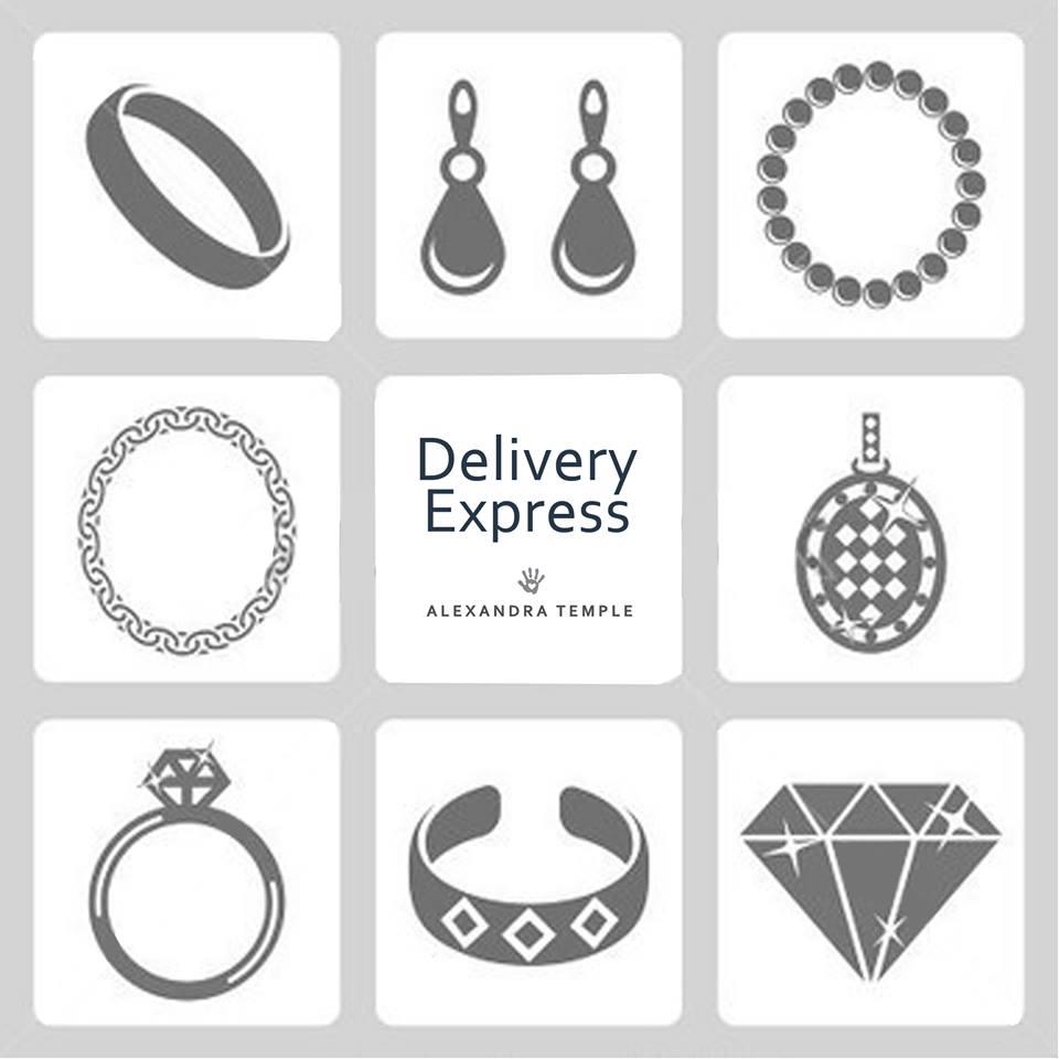 Delivery Express - Alexandra Temple diseñadora de joyas peruana