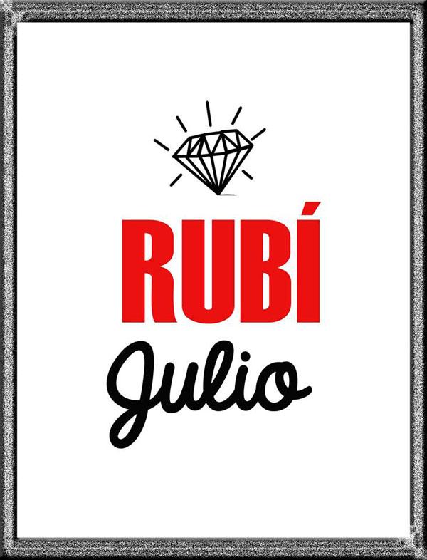 Rubí, gema del mes - Alexandra Temple diseñadora de joyas peruana