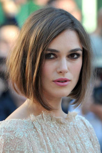Keira Knightleh - Long Bob