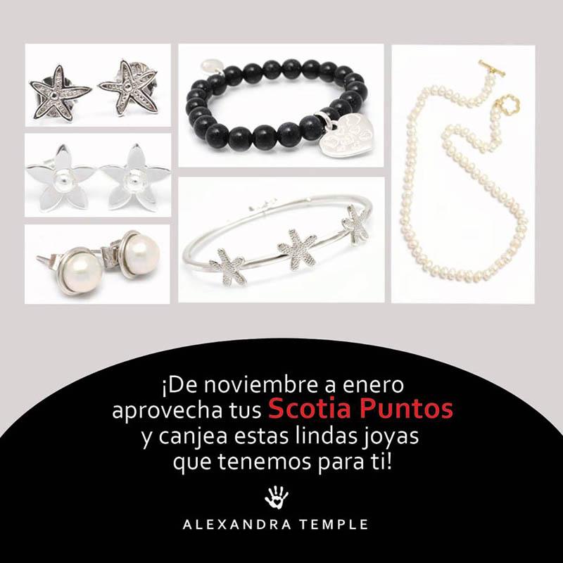 oferta scotia puntos - joyas de plata peruana