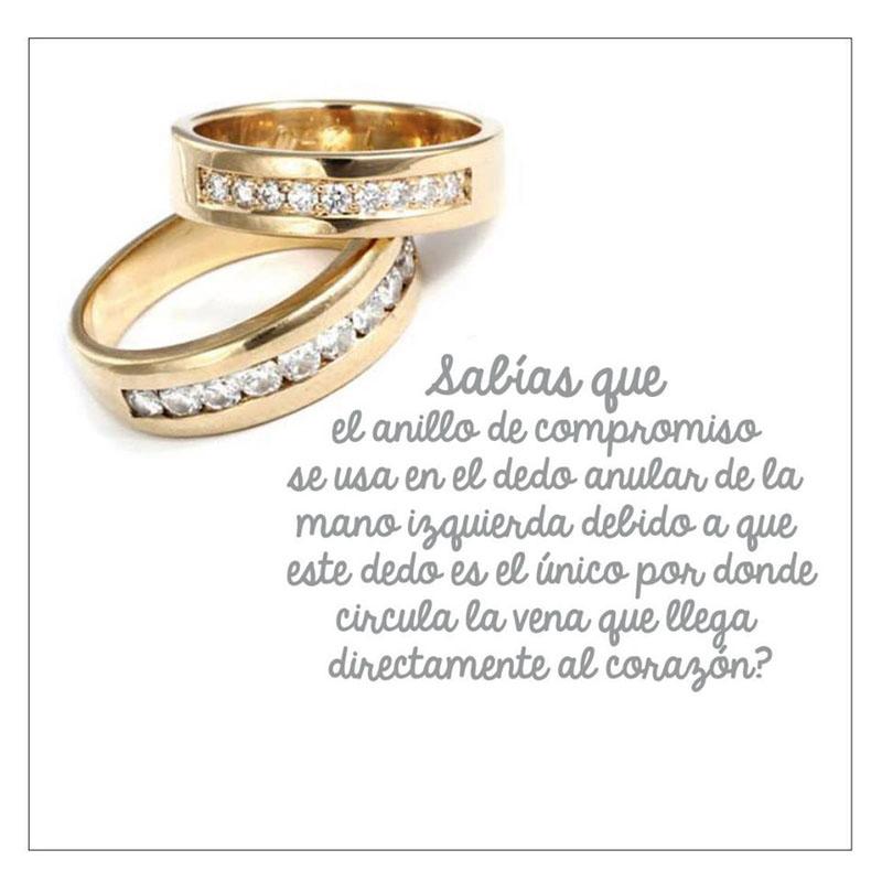 infografia - anillo de compromiso
