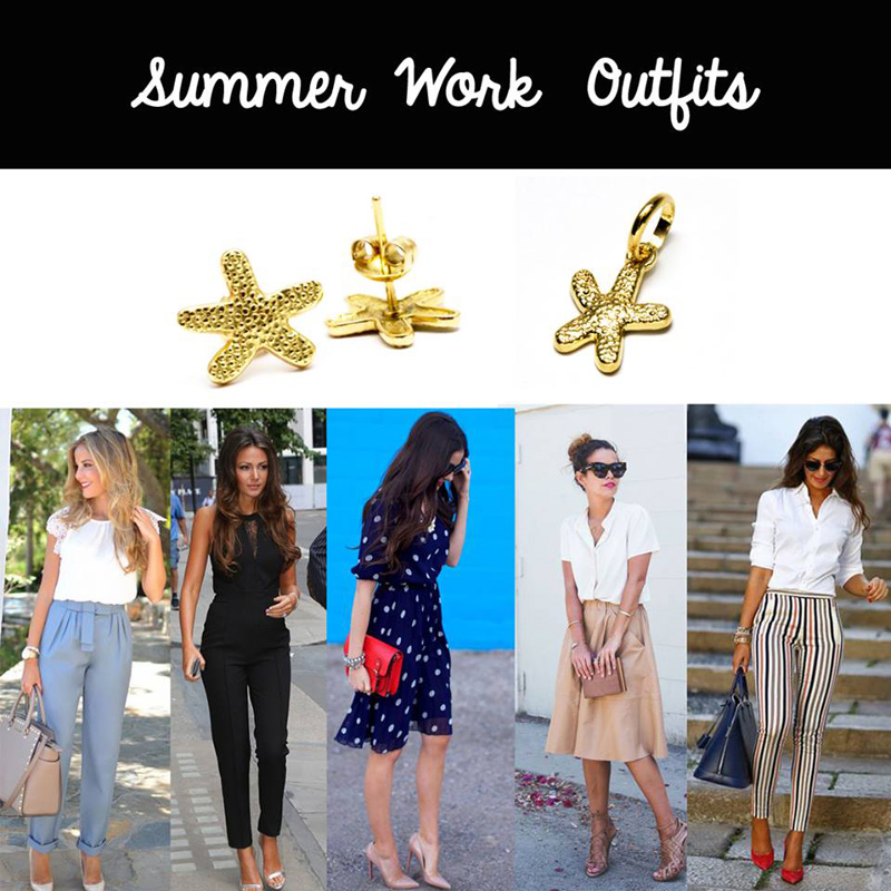 summer outfits - work outfits