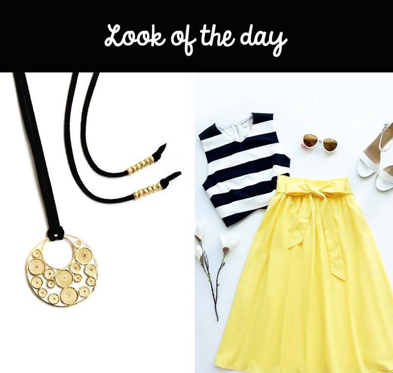 look of the day - fresco y alegre