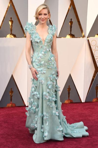 Cate Blanchett en los Oscars