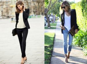 blazer negro - 7 prendas basicas