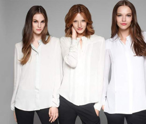 Blusa blanca - 7 prendas basicas