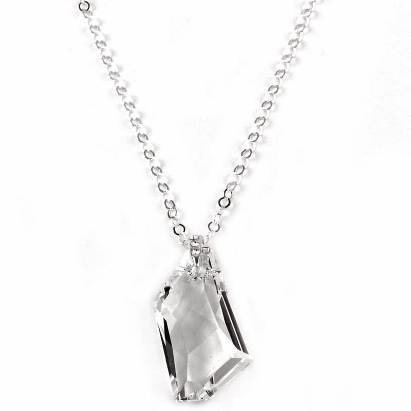 Collares con Cristales Swarovski - joyas de plata