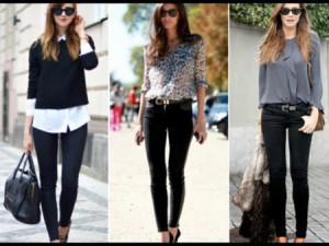 pantalon negro - 7 prendas basicas