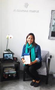 Andrea Nakayoshi - ganandora pulsera macrame y plata