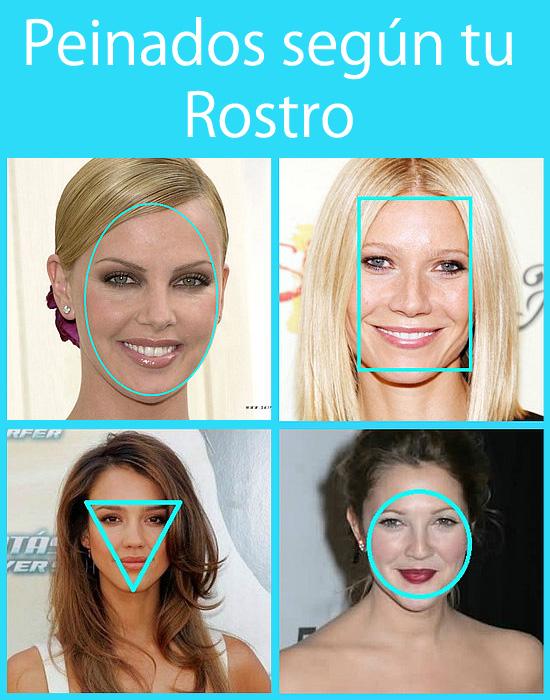 Peinados según tu tipo de Rostro