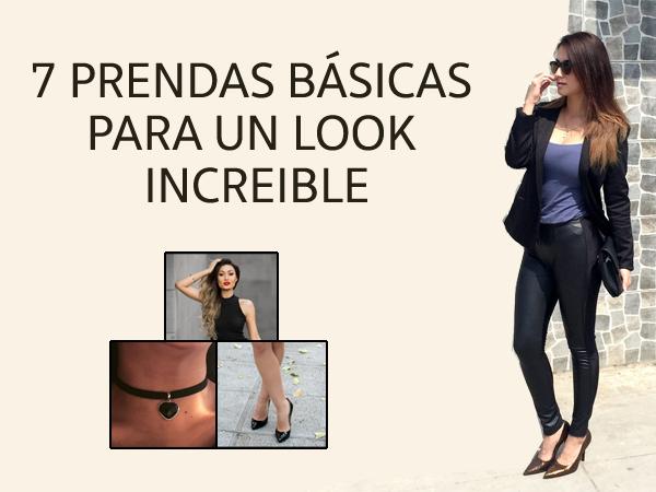 7 prendas basicas para un Look increible