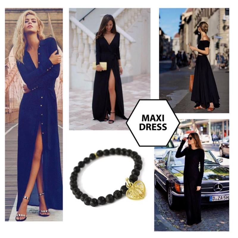 quick look - como lograr un look sexy - maxi-dress
