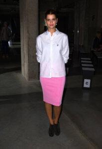 Falda Pencil - NO En actitudes más relajadas o sport