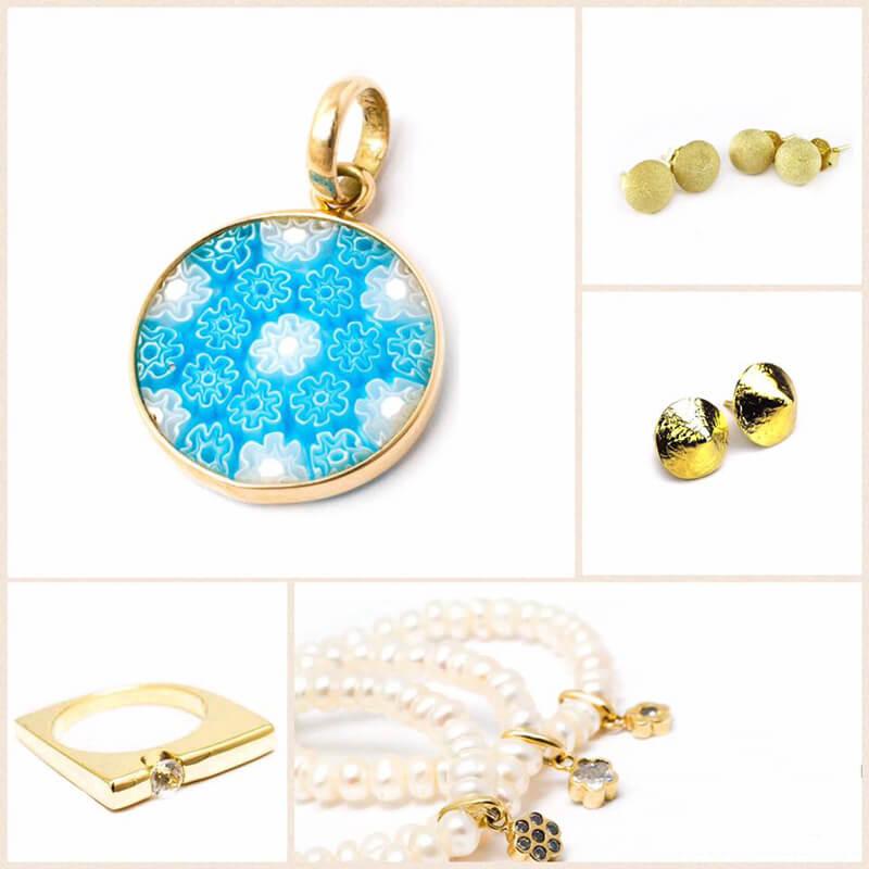 idea de regalo - joyas en oro 18kt