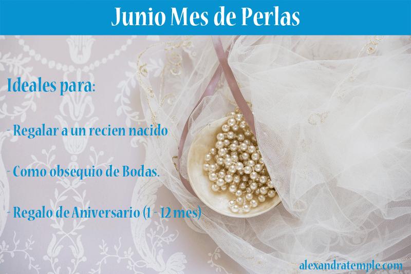 Infografia - Junio mes de perlas - joyas de plata peruana
