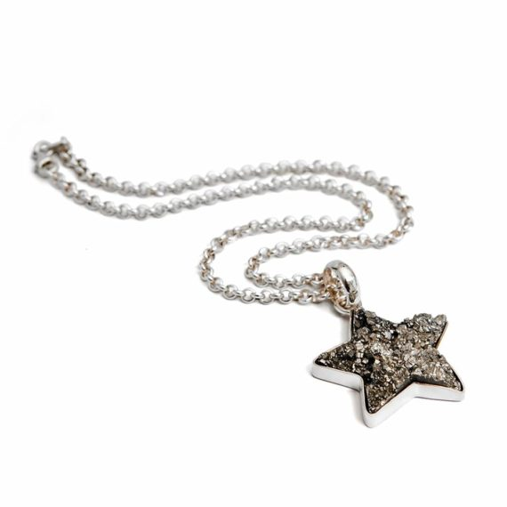 Collar Estrella Pirita