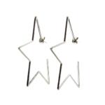 Aretes Argollas Estrella Constelaciones