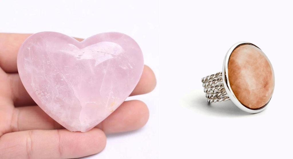 Cuarzo Rosa, La piedra del Amor