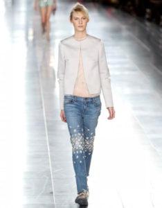 Jeans con Pedreria